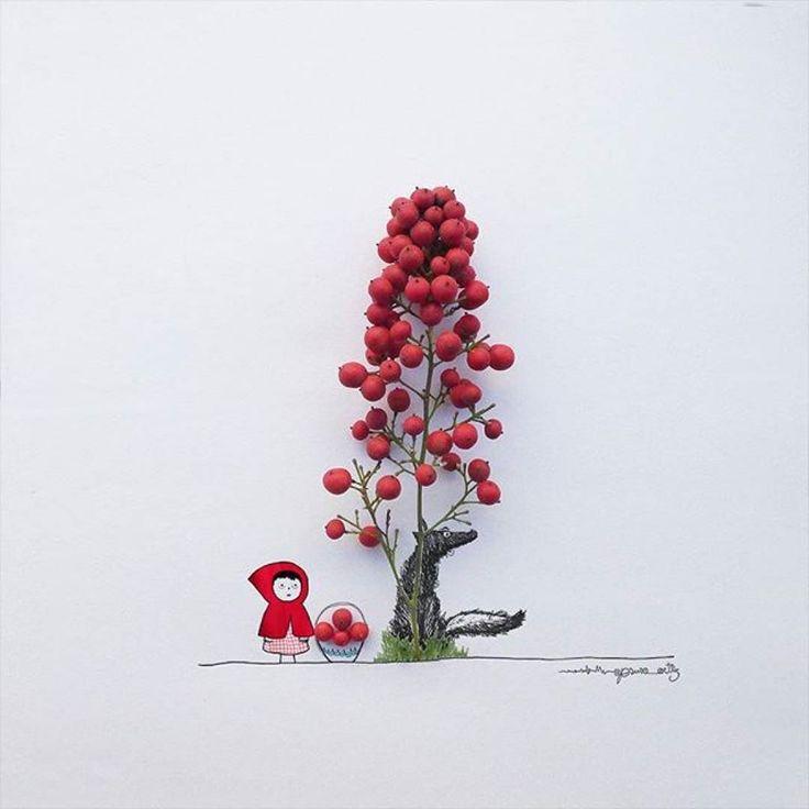 На кого подписать ребенка в Инстаграме? Испанский иллюстратор Хесус Ортиз @jesuso_ortiz для иллюстраций в своем инстаграме использует различные предметы. В результате получаются минималистичные сюрреалистичные картинки которые могут научить вашего ребенка видеть чудеса даже в самых обычных вещах. И поможет развить фантазию. Фламинго с телом из бутона розы балерина с пачкой из волана для бадминтона море из воздушных шаров - и это только малая толика того на что способен Хесус Ортиз.