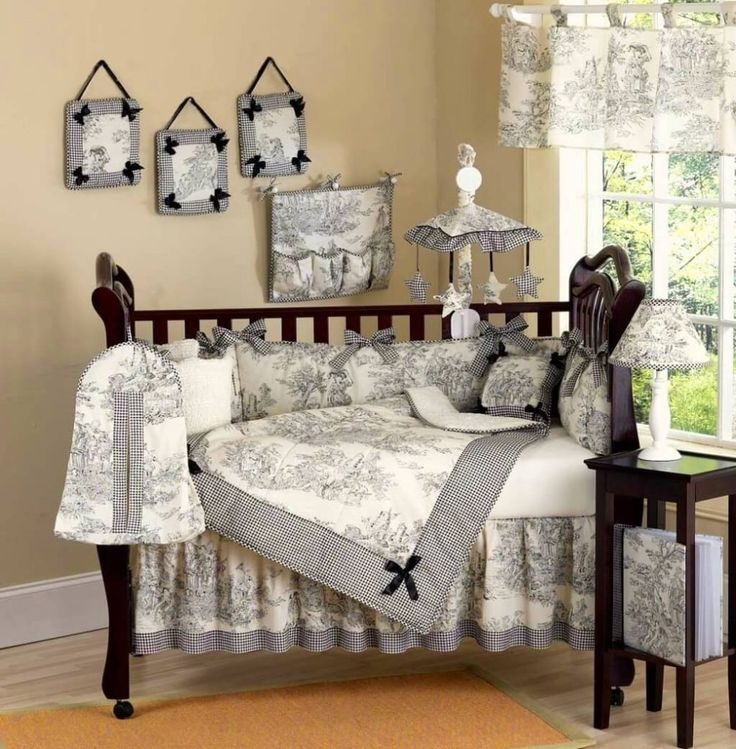 Beautiful Baby Girl Crib Sets