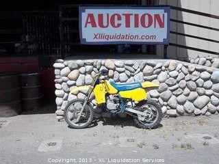 1989 RM80 Suzuki Dirt Bike  Bidding on this item starts Friday, May 17, 2013 at 12:00 am (PT).
