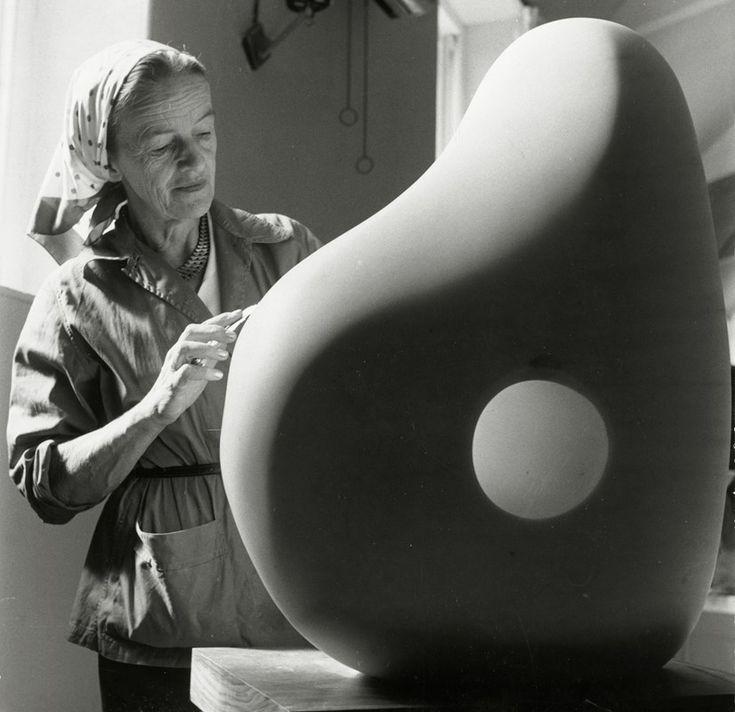 Barbara Hepworth at Trewyn Studio, 1961, Photograp