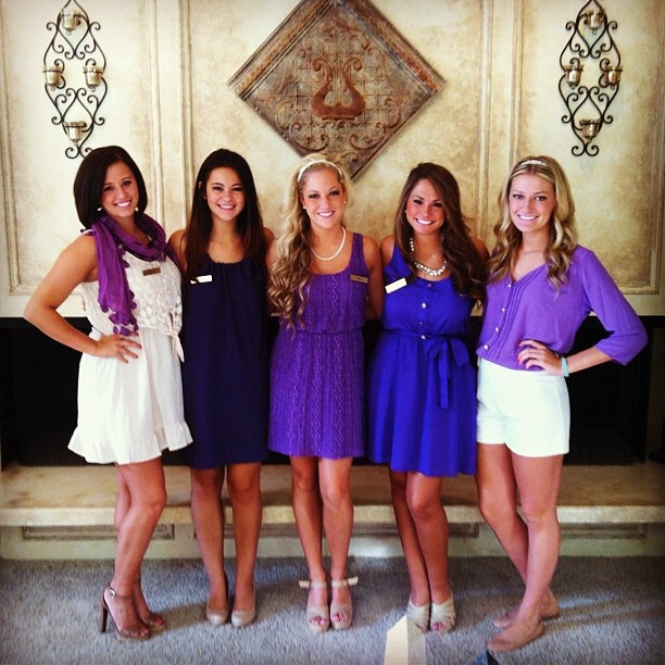 37 Best Images About Recruitment Sisterhood Round On