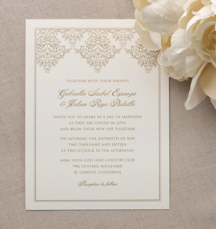 17 best images about william arthur invitations on pinterest, Wedding invitations