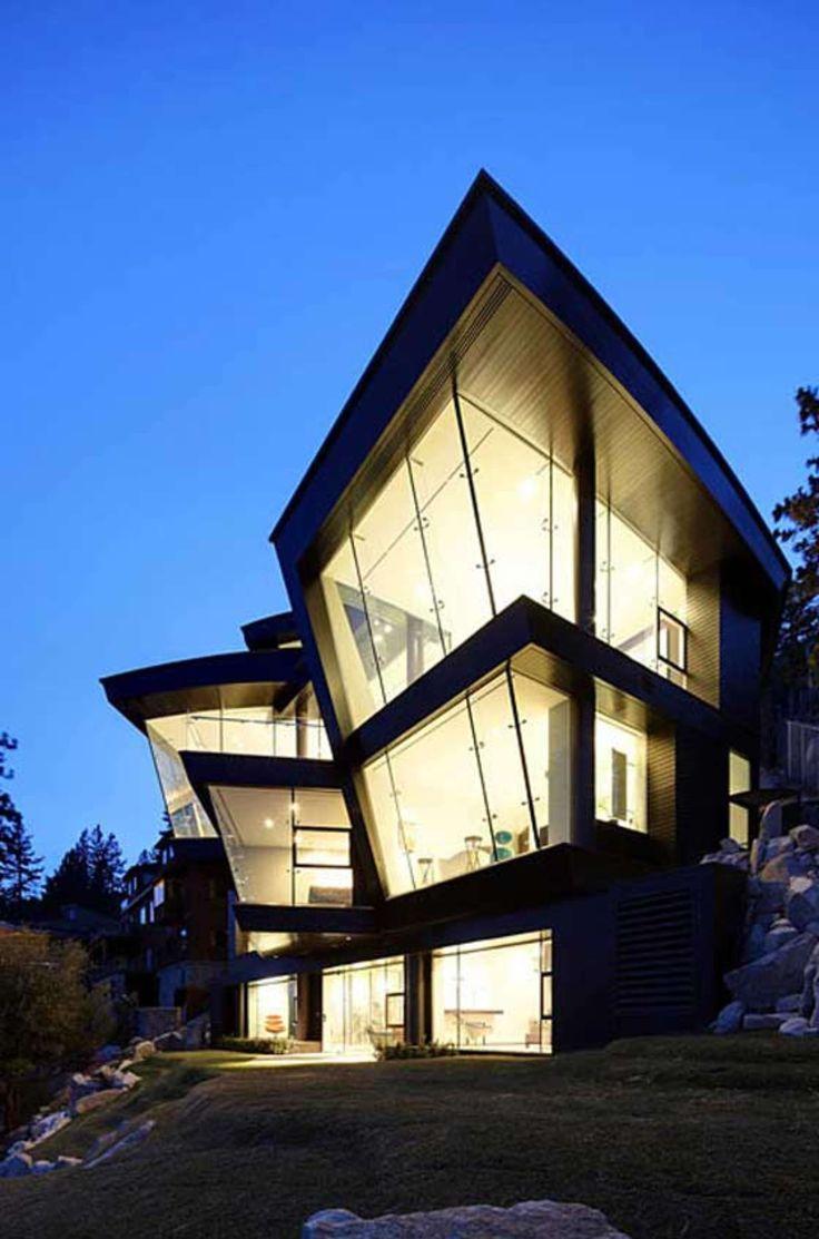 Lake thomas point transitional exterior - The Lake House By Mark Dziewulski Architect Location Crystal Bay Nevada Usa 2006 2010