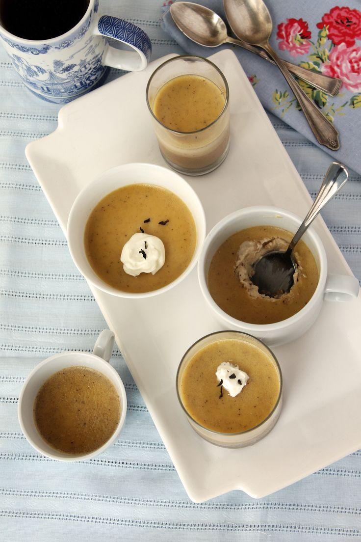 Pannacotta al Té Chai, un postre sin horno, con una textura deliciosa y que se hace bien rápido. #postre #recetas #panna #pannacotta #teatime #te #té #tea #chaitea #chai #techai #especias  #sobremesa  #foodies
