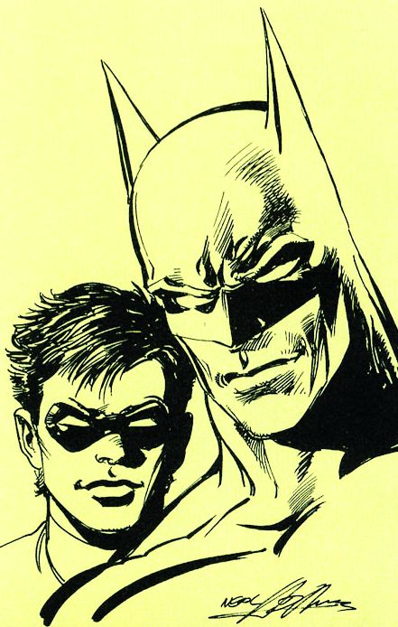 Batman and Robin by Neal Adams