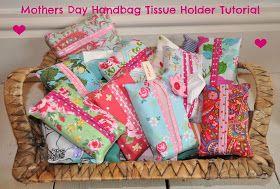 Sew Scrumptious: Gift Tutorials - Tissue Holder