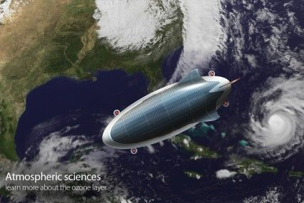 SHARK | Maform Climate Change research tool  airship design concept