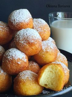 Кулинарные моменты: Творожные пончики