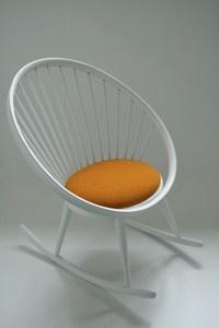 http://www.mdezign.info Design: Yngve Ekstrom Manufacturer: Stol AB Zweden Design year:1958 Color: white, orange