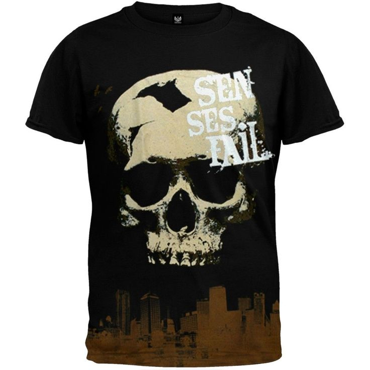 Senses Fail - Skull City T-Shirt