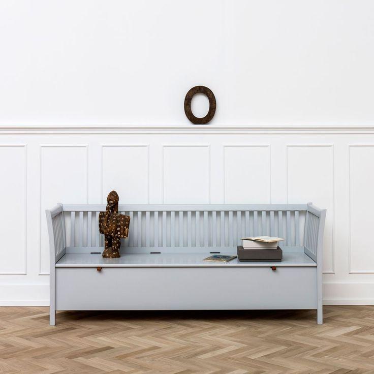 Seaside Liten Svart Kökssoffa | Oliver Furniture | Länna Möbler | Handla online