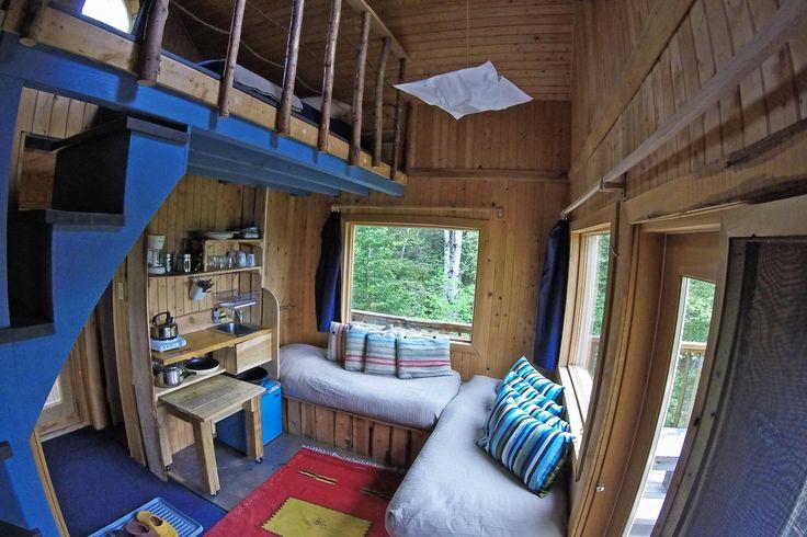 Cabanes perchées de Canopée Lit MargauxValletPhotographies
