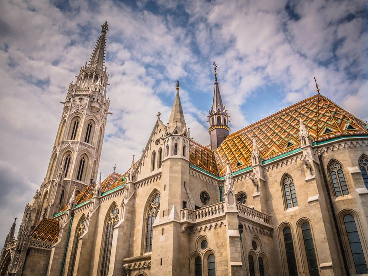 Mátyás-templom (Matthias Church)  Over 700 years old, Mátyás-templom was the site of the coronation of Franz Joseph I of Austria and his wife Elizabeth, which marked the establishment of the Austro-Hungarian Empire in 1867. Its roof is tiled in ceramics from the renowned Zsolnay factory of Hungary.