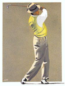The Putt Art Print by Scott Horton Easyart.com