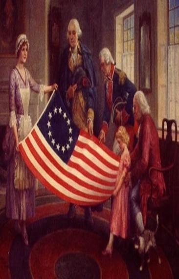 13 Colony USA Flag