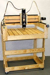 CNC Machine made of 1x4, 2x4 etc.