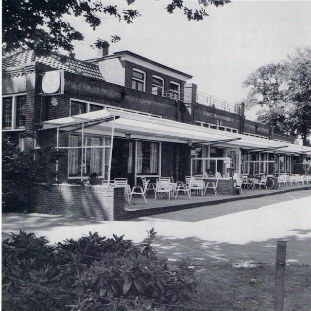 Oud Enschede: cafe restaurant AB, Gronausestraat.