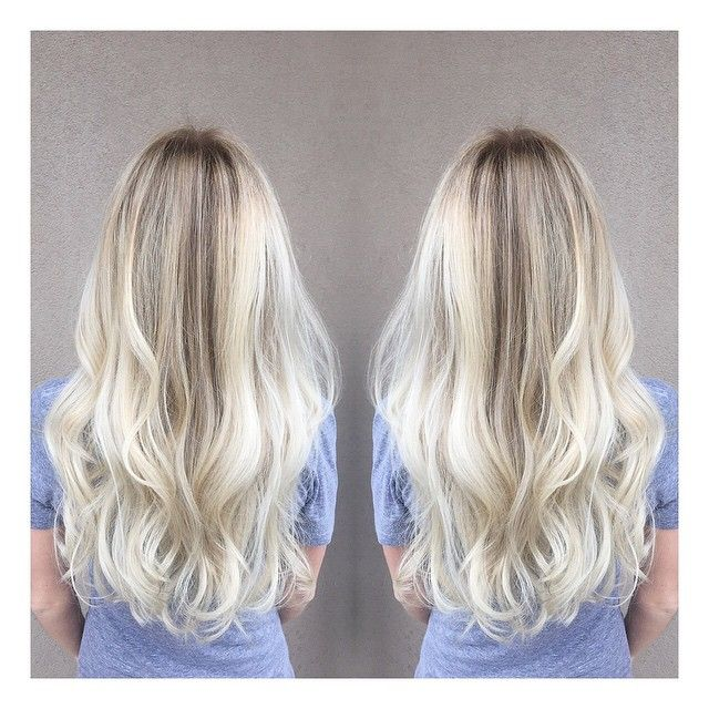 Perfect cool blonde shade