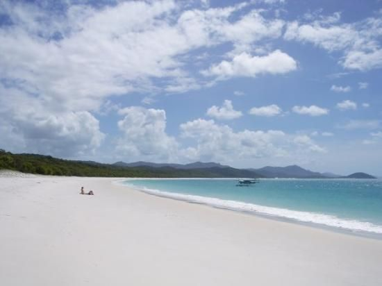 Fly in - fly out to Whitehaven Beach   Airlie Beach, Whitsunday Islands  Australia