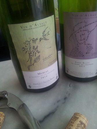 """Muscat """" l'oiseau et le bouquet"""" 2014 #vin #naturel"""