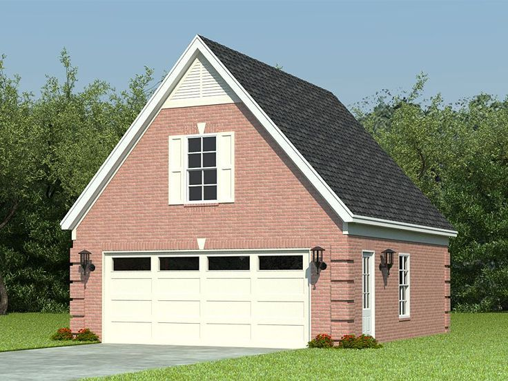 Garage loft plan 006g 0068 garage pinterest loft for 1 car garage with loft
