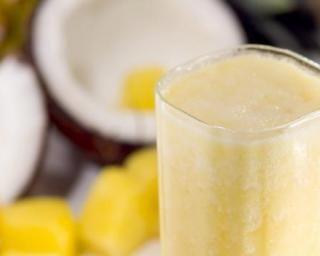 Jus coco, ananas, orange et passion à moins de 50 kcal par verre