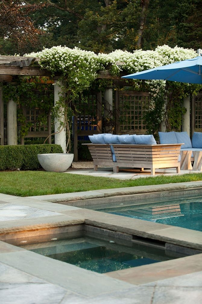 Poolside - Janice Parker design - Plongeoirs et bassins - La touche d'Agathe - Piscine, swimming pool, nage, jardin, water, eau, bassins