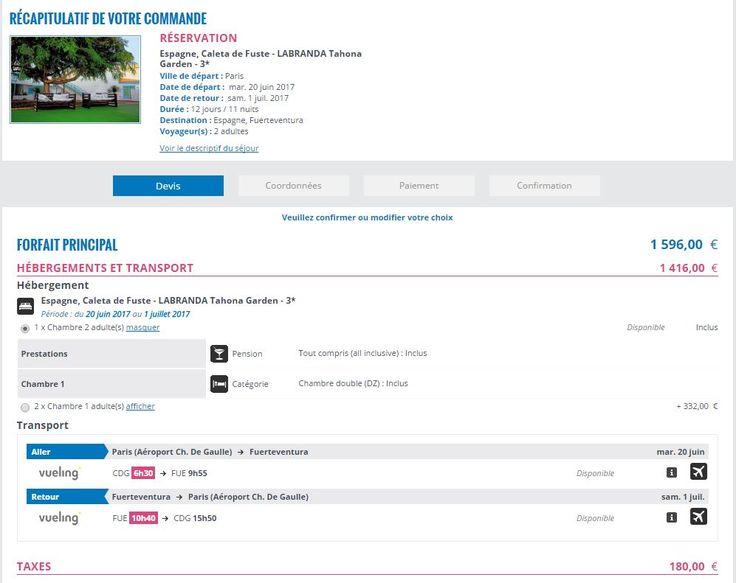 Pas très cher, sympa mais un peu vieillot, ce club à Fuerteventura. Vol direct (même si 6h30 à CDG).  Avis sur trip  : https://www.tripadvisor.fr/Hotel_Review-g658907-d567979-Reviews-LABRANDA_La_Tahona_Garden-Caleta_de_Fuste_Antigua_Fuerteventura_Canary_Islands.html - bien placé, proche des commerces, de la mer, position centrale sur l'île, idéal quand on veut visiter  restauration : correct. Toujours des fruits et des légumes frais. on trouve toujours de quoi bien manger et boire