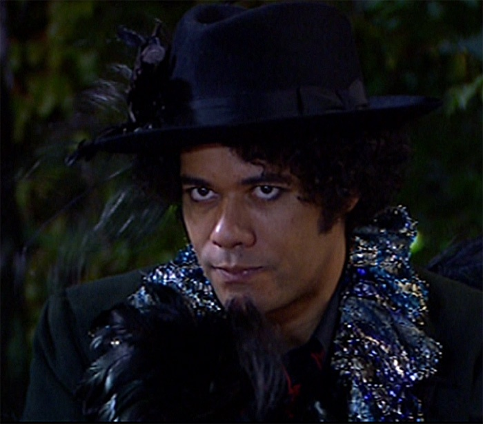 "Richard Ayoade as Saboo in ""The Mighty Boosh."""