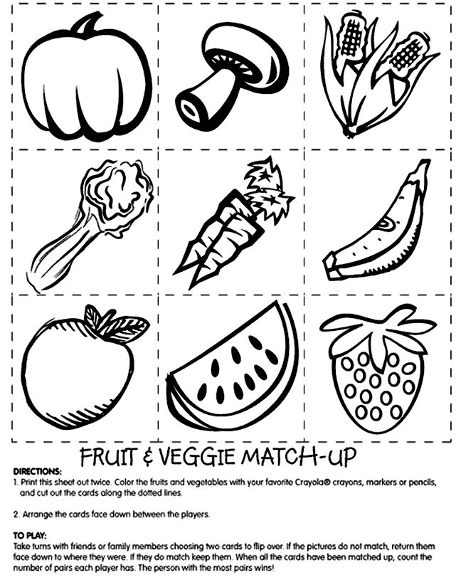 vegetables coloring pages selfcoloringpagescom