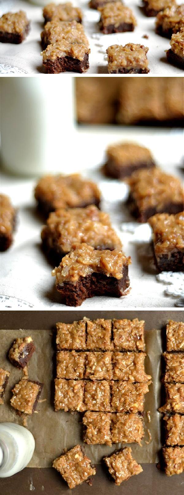 Best 25+ German chocolate brownies ideas only on Pinterest ...