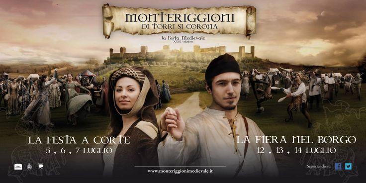 Domani prende il via la Festa medievale di Monteriggioni. Programma completo su www.monteriggionimedievale.com