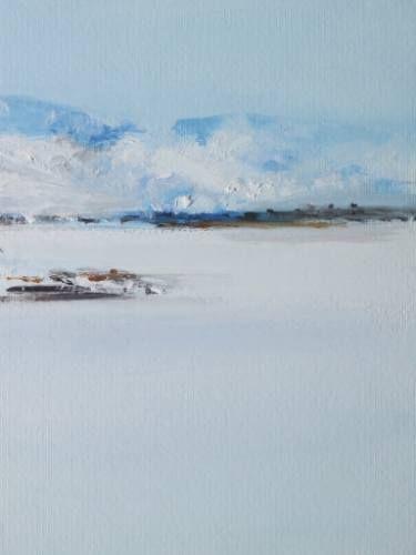 "Saatchi Art Artist Marta Zamarska; Painting, ""Siberian Postcard 4"" #art"