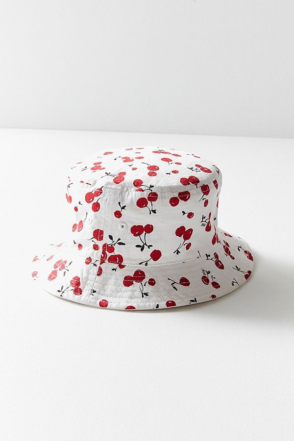 afa57cbd14863 Champion HVN for Urban Outfitters Cherry Reversible Bucket Hat  women   accessories  cap  cherry  cool  hat