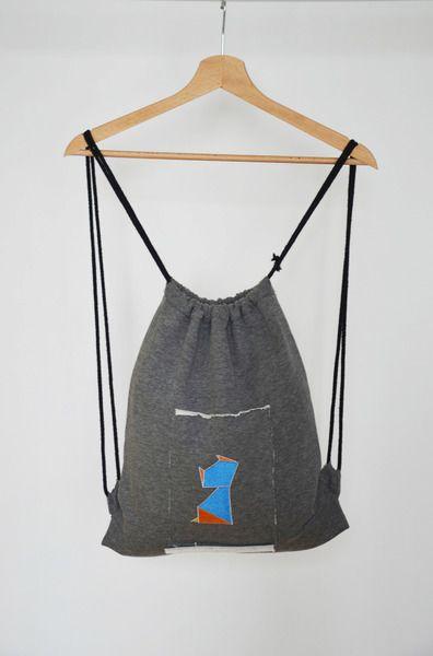 Plecak worek - kot w BLOUZ  na DaWanda.com