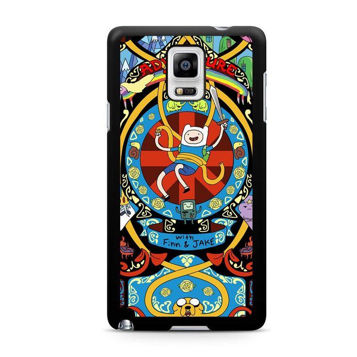 Adventure Time Art Nouveau For Samsung Galaxy Note 4 Case