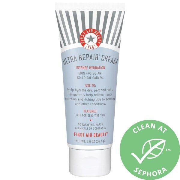 Mini Ultra Repair Cream Intense Hydration First Aid Beauty Sephora In 2021 First Aid Beauty Repair Cream Soothing Moisturizer