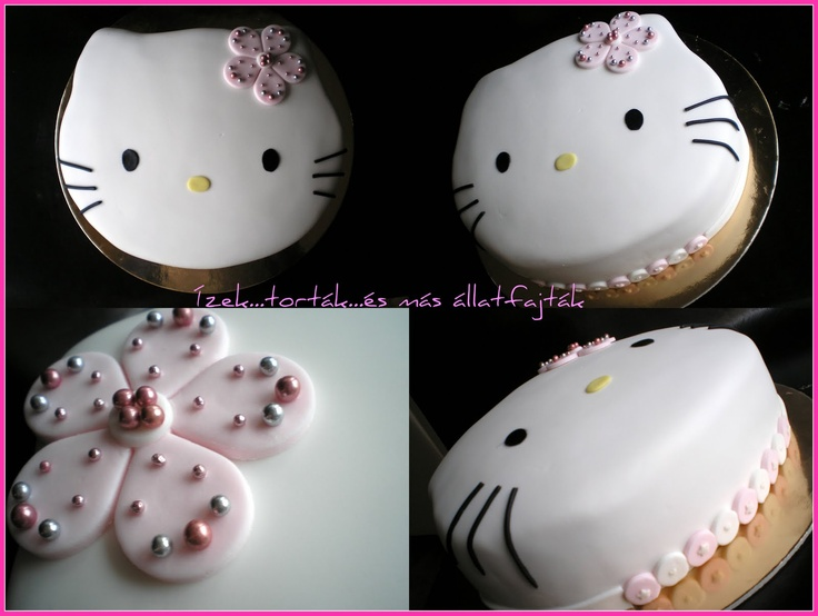 Ízek...torták...és más állatfajták: Hello Kitty-s torta