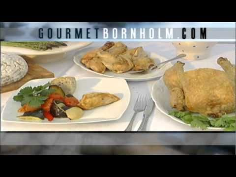 Gourmet Bornholm is a web site with information about the island's specialties, which include rugkiks, smoked fish and chicken.  http://gourmetbornholm.dk