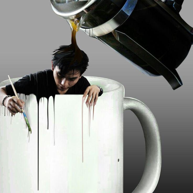 Coffee :D #digitalphotoshop