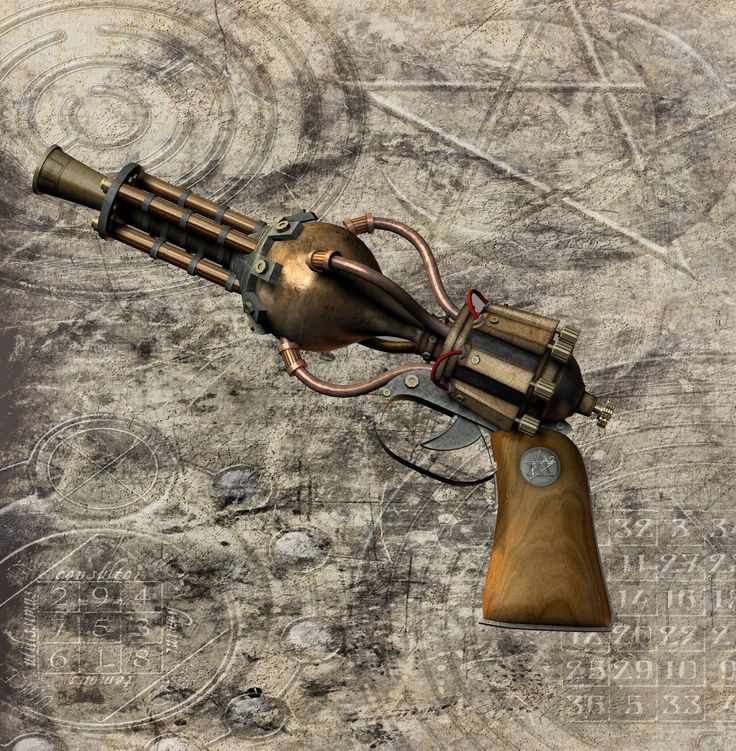 DIY Steampunk gun - very Fallout 3. Description from pinterest.com. I searched for this on bing.com/images