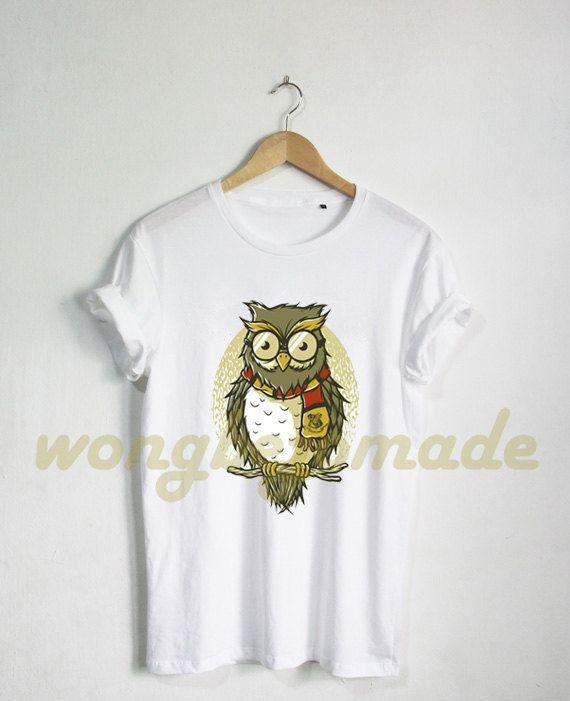 Hogwarts Alumni Shirt Hogwarts Owl Tshirt Harry by Wongbejomade