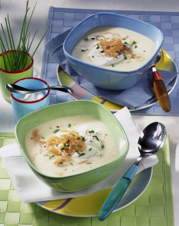 Unser beliebtes Rezept für Kartoffel-Sellerie-Suppe und mehr als 55.000 weitere kostenlose Rezepte auf LECKER.de.