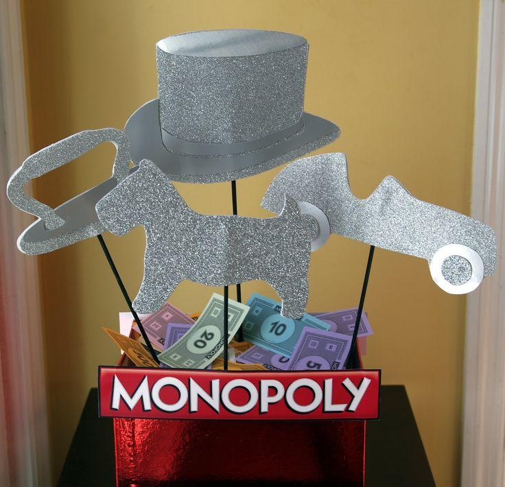 monopoly party decoration ideas