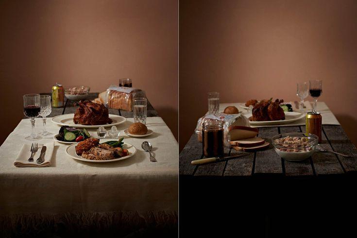 富裕層と貧困層の食事を並べてみた 「持てる者と持たざる者」の目に余る格差(画像)US