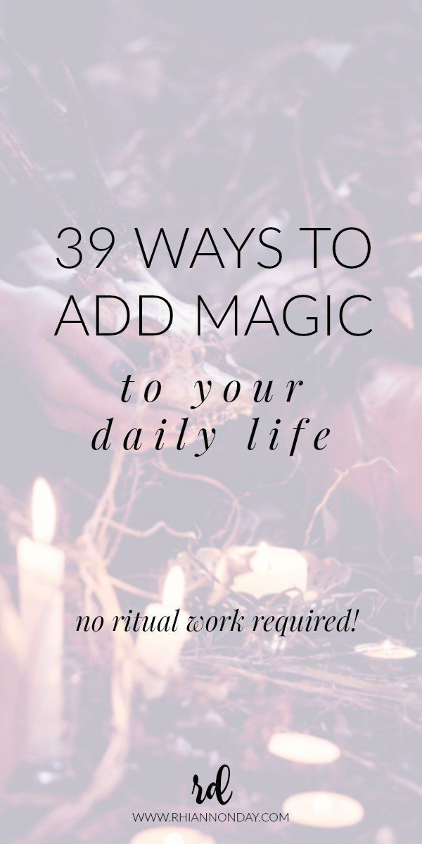 Think you've got no time for magic? Do your life circumstances keep you locked i...