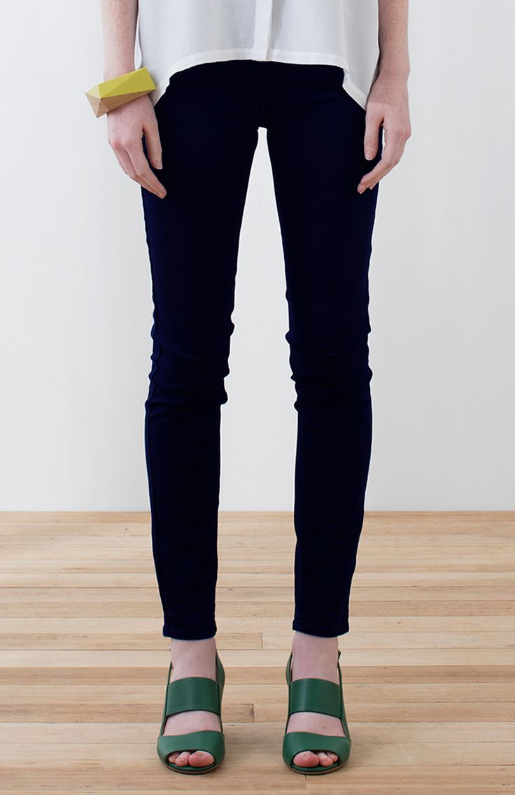 Elk The Label | The Oslo Deep Indigo Jeans have been handmade with comfort in mind. | Our friends at Elk have the most comfortable denim jeans you will find in Australia! (We think so anyway..!)