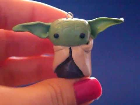 I want!!!!!!!     Star Wars - ProjectInspirationz - Polymer Clay Charms