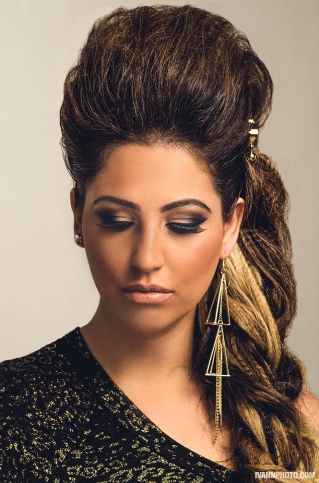 Side braid make up by @n2mua photo by @ivannphoto hair by moi