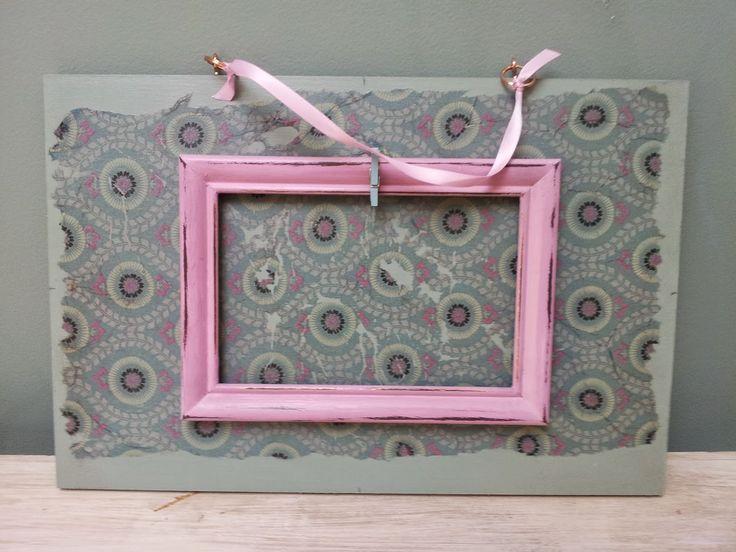 Vintage Plaquette handmade